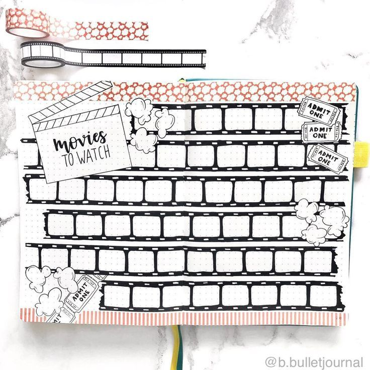 These bullet journal ideas aren't only unique and fun, but easy to copy too! Click through to find 15 unique bullet journal ideas. #bulletjournalideas
