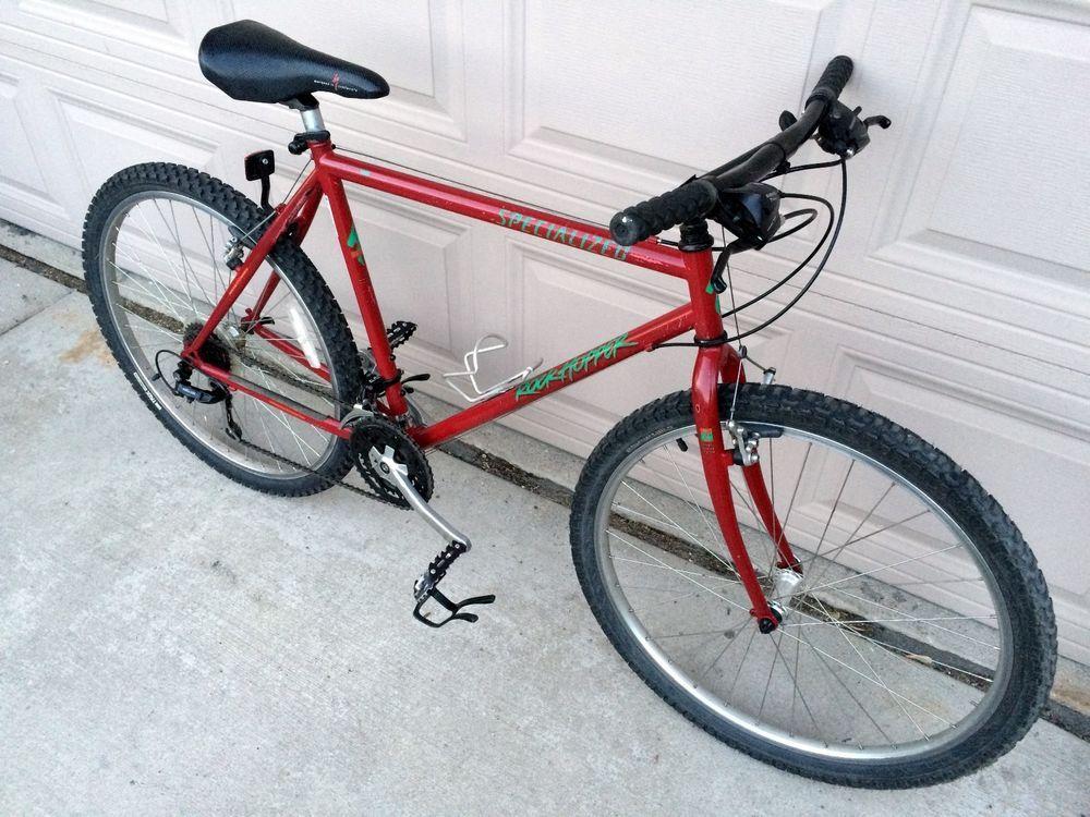 Details About Specialized Hardrock Ultra Vintage Mtb Bike