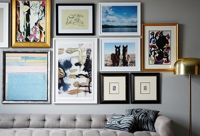 Come appendere i quadri in soggiorno i quadri come for Quadri parete soggiorno