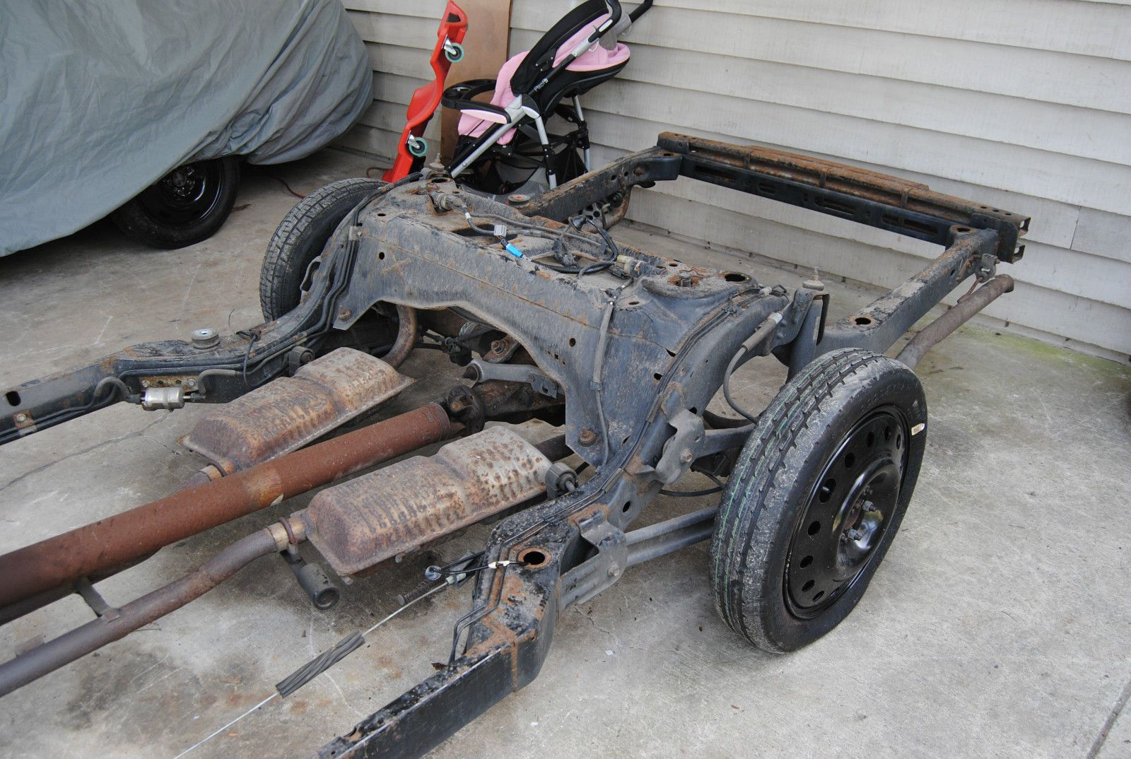 Lincoln Town Car Hot Rod Conversion Complete Rolling Frame Chassis