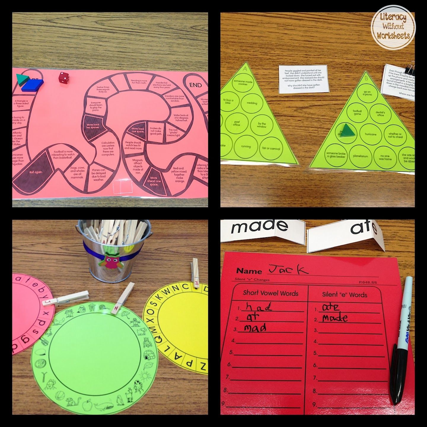 Center And Small Group Ideas K 5