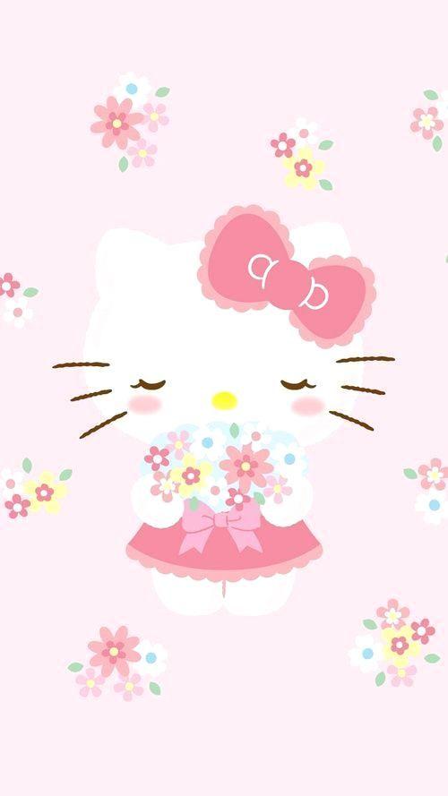 Hello Kitty wallpaper… | Love Hello Kitty <3 | Pinterest | Hello ...