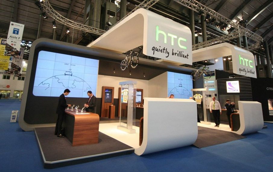 Exhibition Stand Design Barcelona : Htc project for the mobile world congress booth