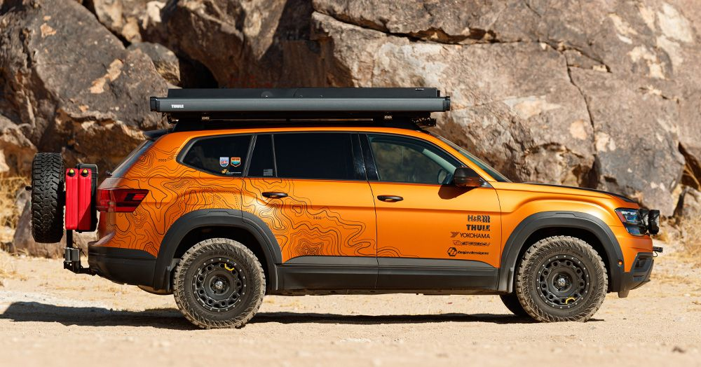 Fortified adventure SUV. in 2020 Vw toureg, Suv