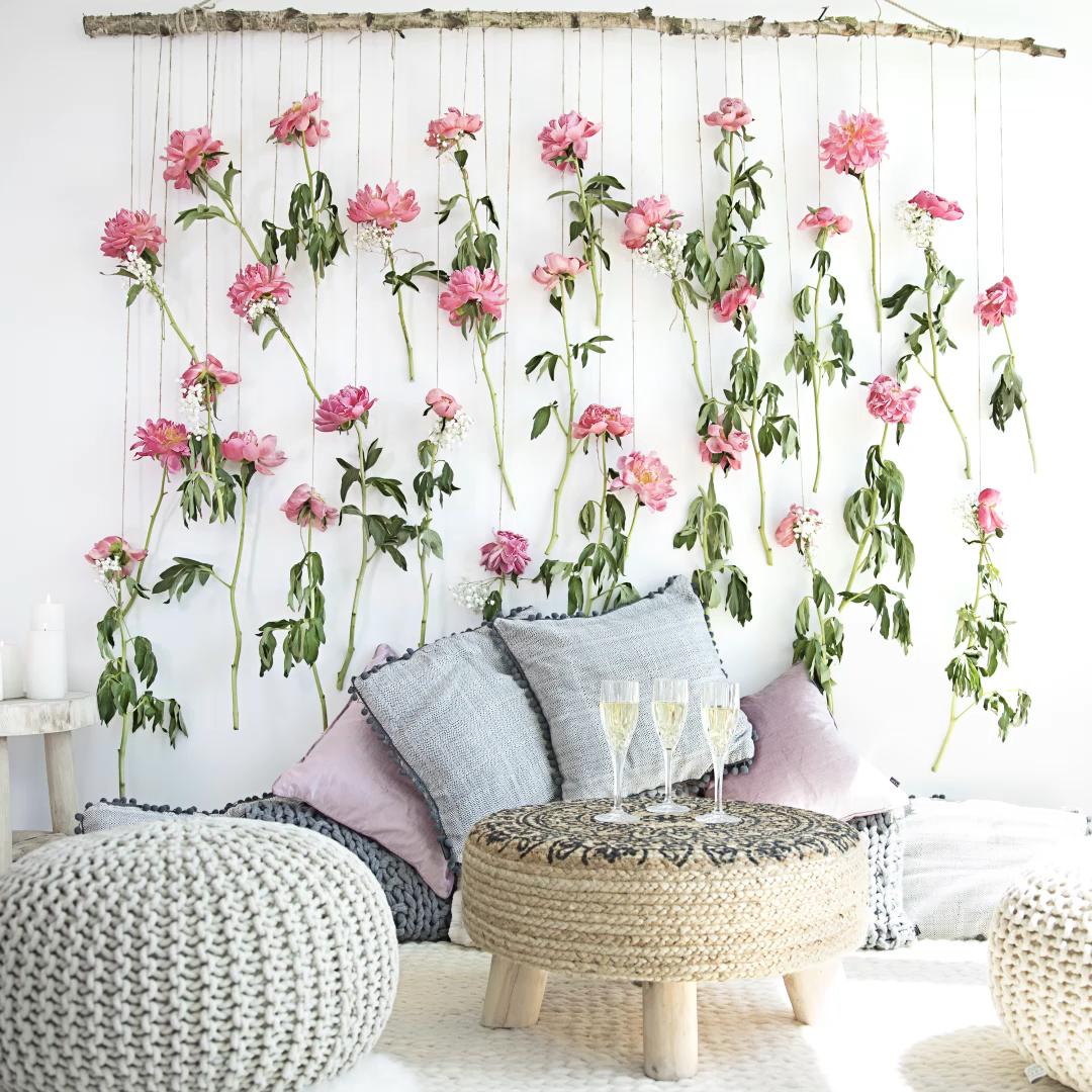 DIY Westwing: Painel de flores