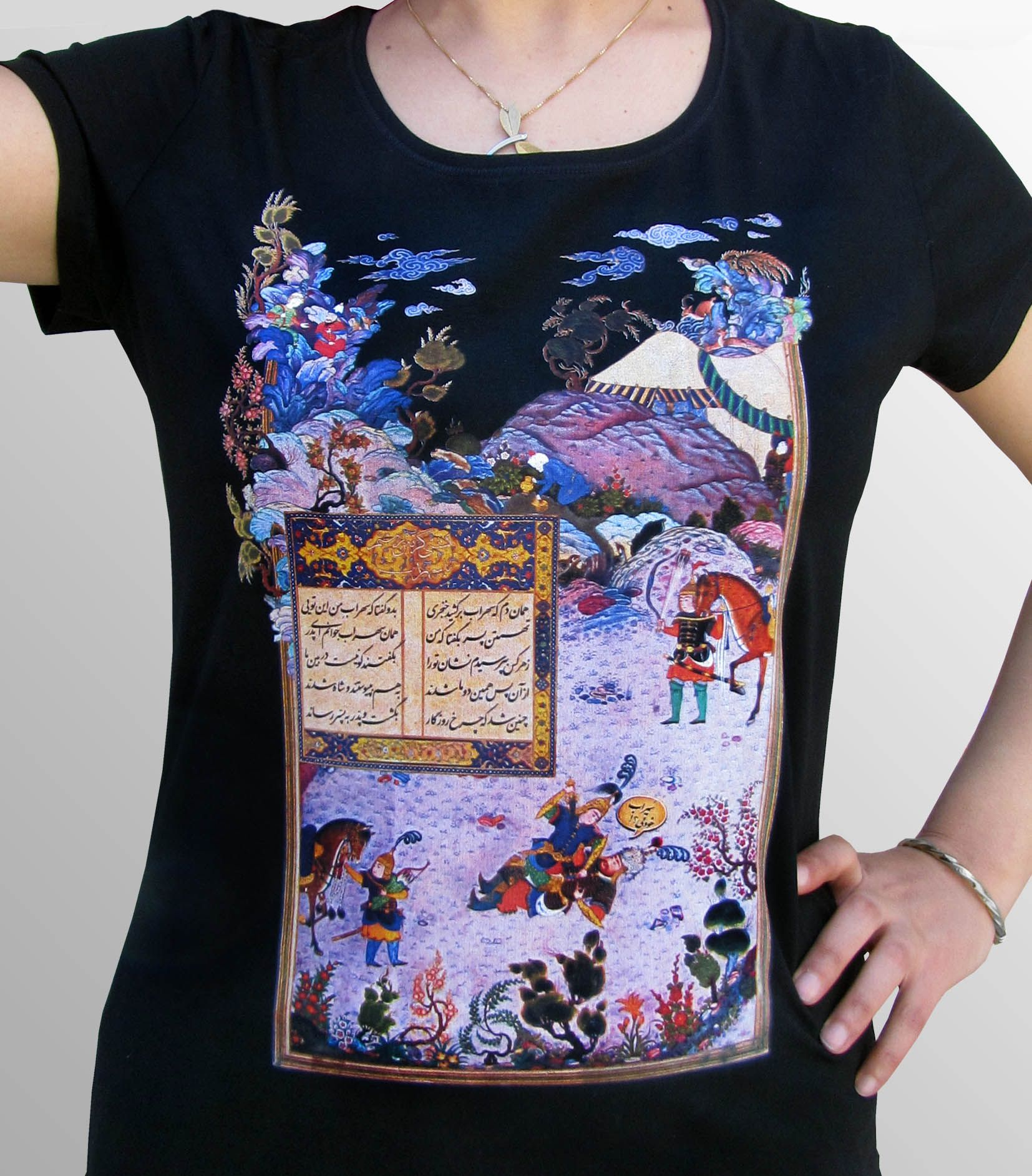 T-shirt design handmade - Our Handmade T Shirts Are Inspired By The Re Birthing Of Persian Art