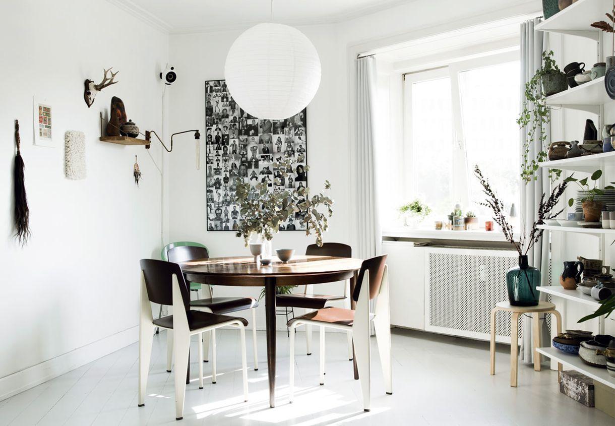 Lejlighed på Østerbro i København med spisestue med stor ...