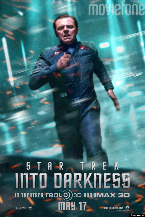'Star Trek Into Darkness': Two New, Exclusive Posters Feature Intense Chekov & Scotty
