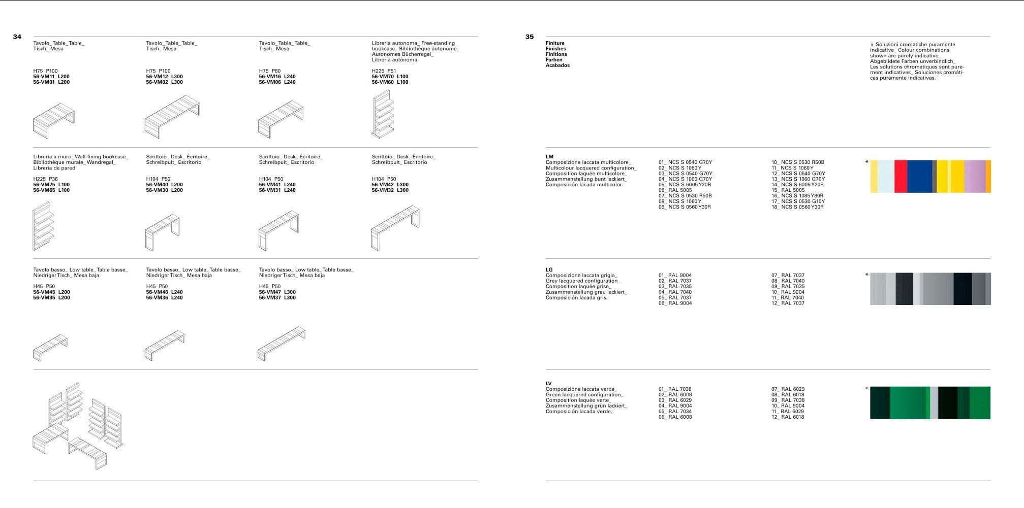 Fantoni Book Layout Brochure Layout Catalog Design