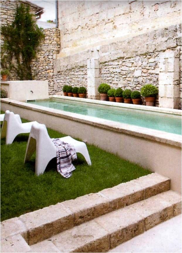 Raised Pool Pequeñas Piscinas Piscinas Rusticas Y Piscinas