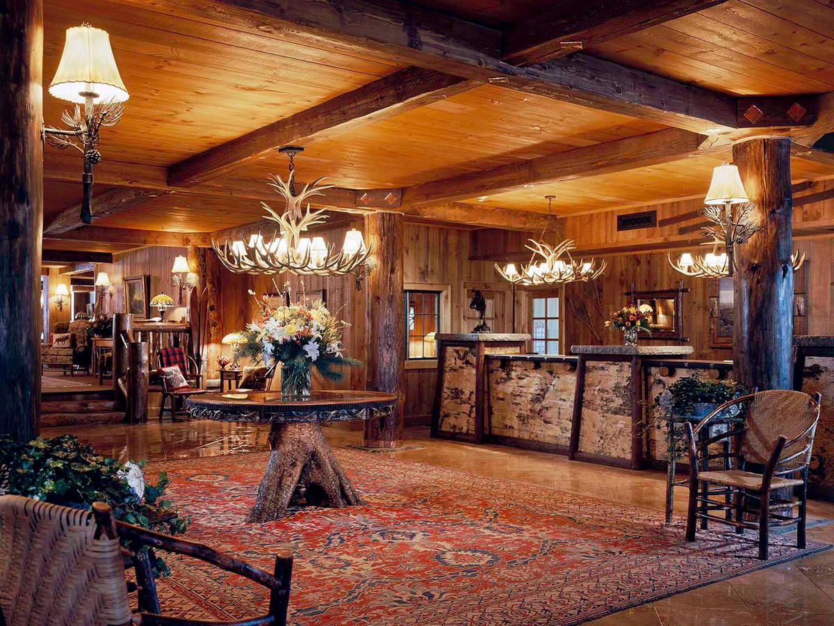 The Best Rustic-Chic Getaways | Rustic Decor | Lodge style