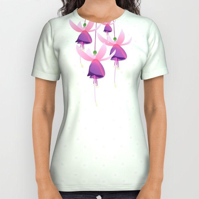 Garden fairies All Over Print Shirt by Okopipi Design | Society6
