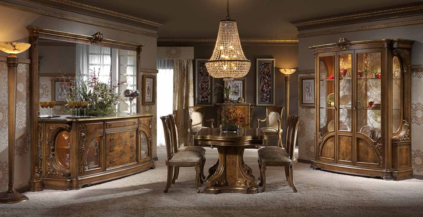 Comedores elegantes clasicos buscar con google casas for Muebles de comedor elegantes