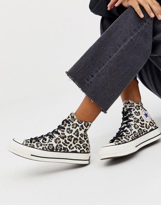 Converse Chuck '70 leopard print