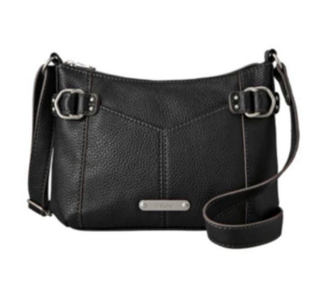 Crossbody Bag in Jet Black NWT Ladies/Juniors Relic Parker #Relic #CrossBody