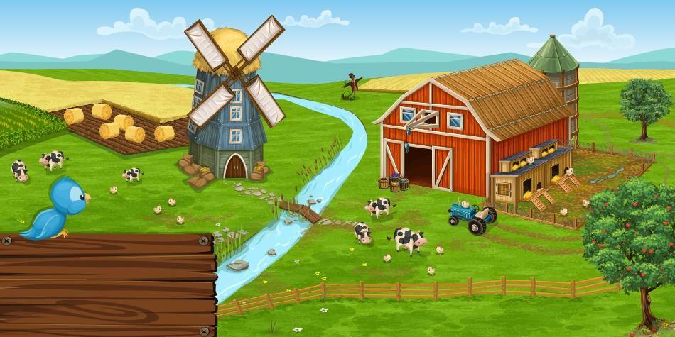تحميل لعبة المزرعة الكمبيرة للاندرويد لعبة المزرعة مجانا للموبايل اخر اصدار تحميل العاب المزرعات مجانا Download Big Farm Andro Big Farm Farm Golf Courses