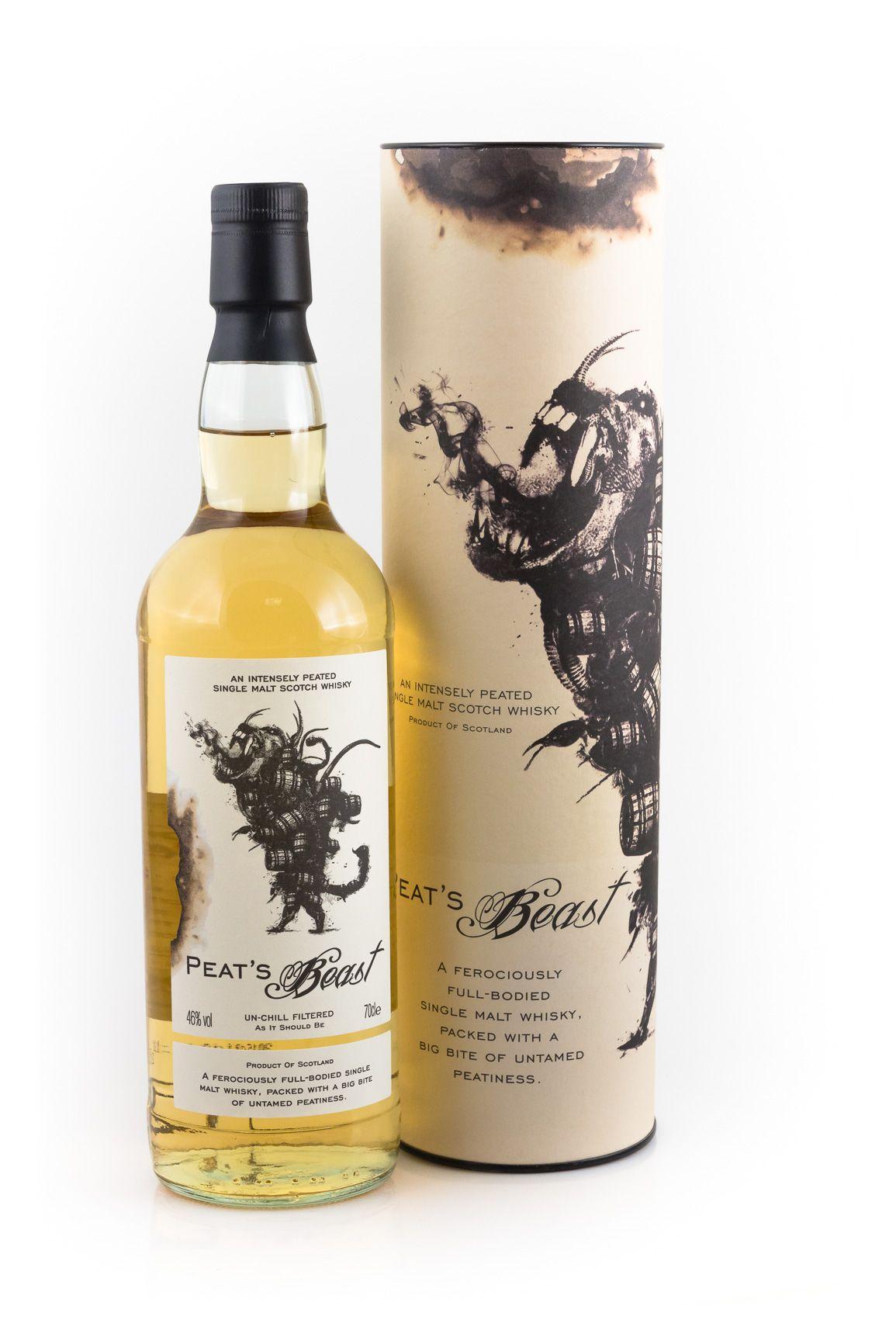 Name: Peat\'s Beast Peated Single Malt Scotch Whisky ...