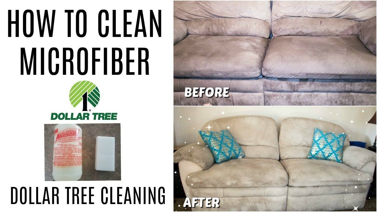 HOW TO CLEAN MICROFIBER DOLLAR TREE CLEANING Clean