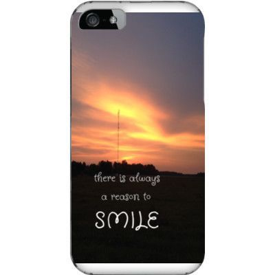 reason to smile phone case iPhone 5 / 5s printed phone case Protect your phone with style! Plastic case which covers the back and sides of your phone. Free shipping within USA!! Just $3 for unlimited