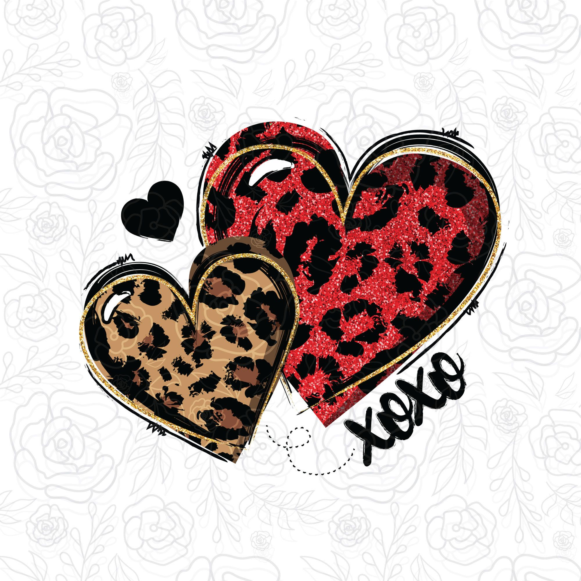 Valentines Day Hearts Sublimation Leopard Hearts Png Valentine S Day Glitter Hearts Leopard Love Clipart Digital Download Valentines Day Hearts Valentines Valentine Images