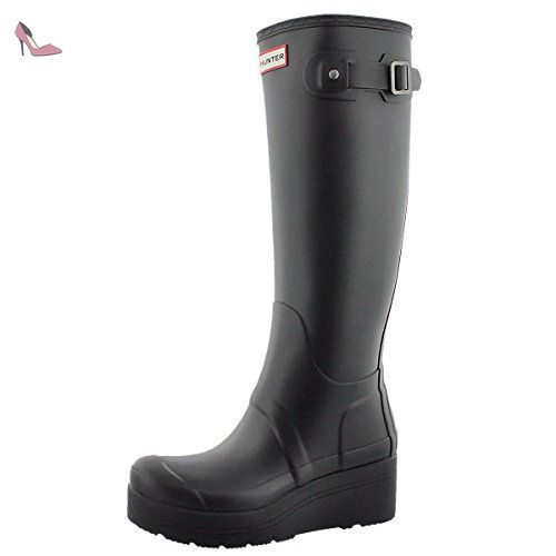 Hunter , bottes en caoutchouc femme - Noir - Noir, 38 EU - Chaussures hunter