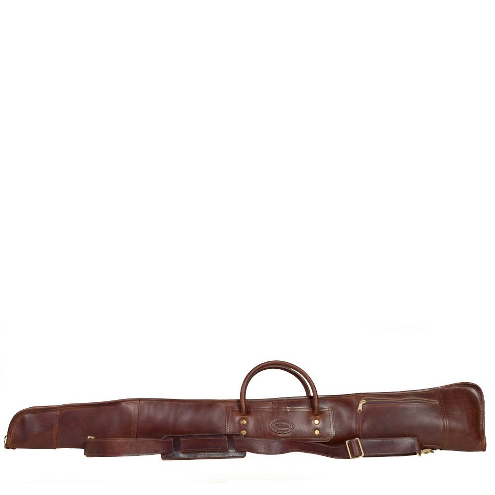 Extremely Fancy Tm Leather Shotgun Case By J W Hulme Co