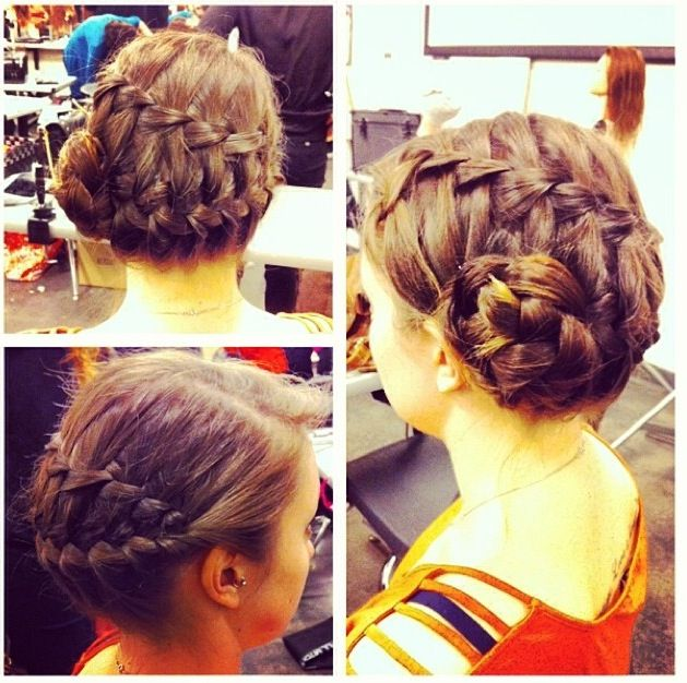 Braided up do! Easy!!