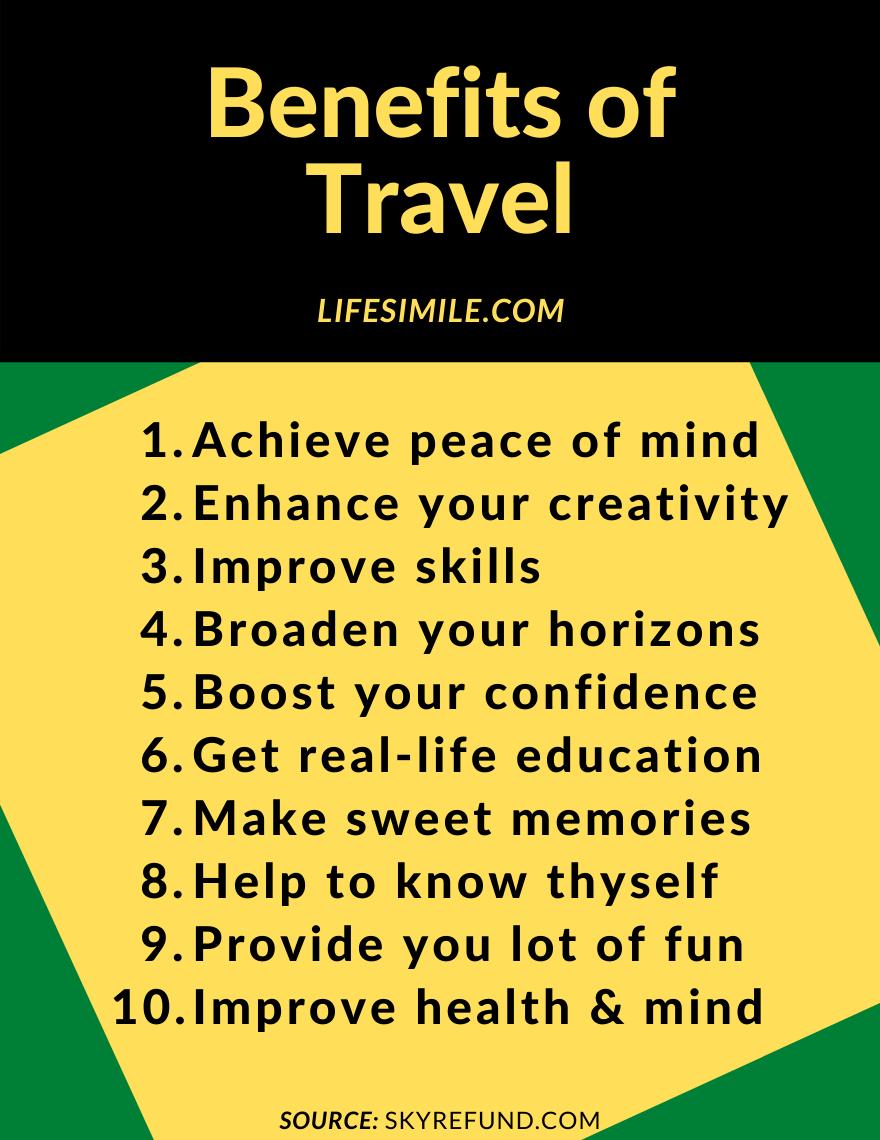 benefits of travel