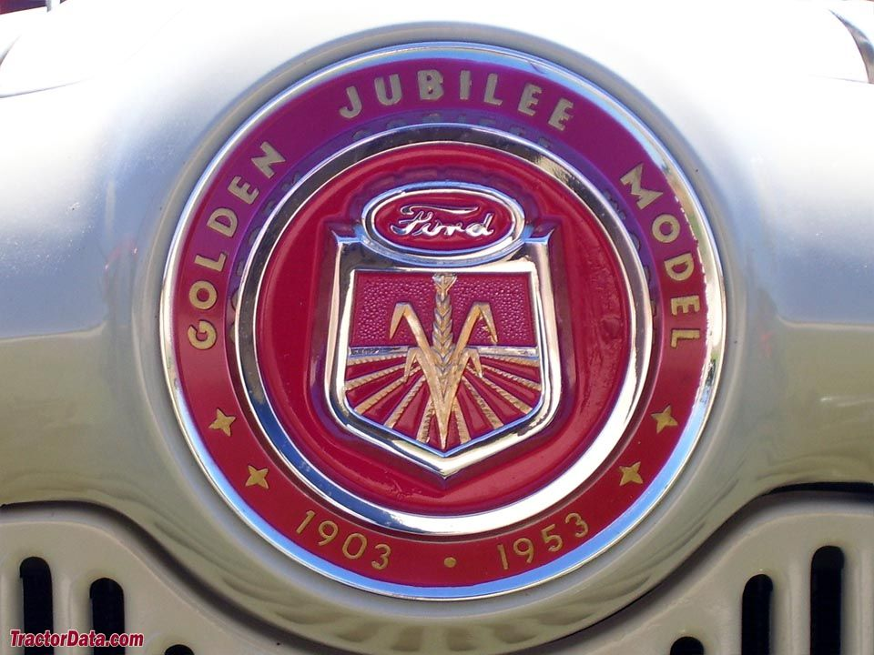 1953 Ford Golden Jubilee Tractor New Metal Sign