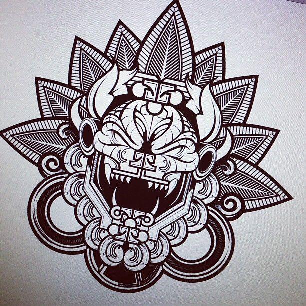 Best 25 aztec tattoos meanings ideas on pinterest arm tattoos aztec eagle symbolism and - Dibujos tribales para tatuar ...