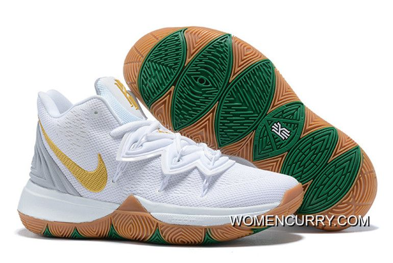 "Top Deals Nike Kyrie 5 ""Irish"" White"