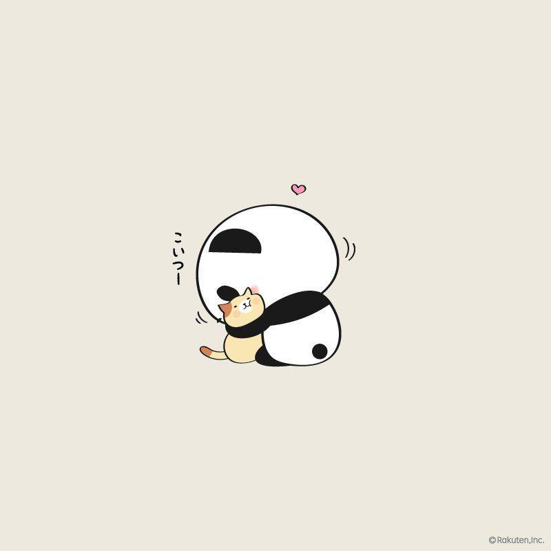 2 Twitter Cute Panda Cartoon Cute Panda Wallpaper Panda Wallpapers