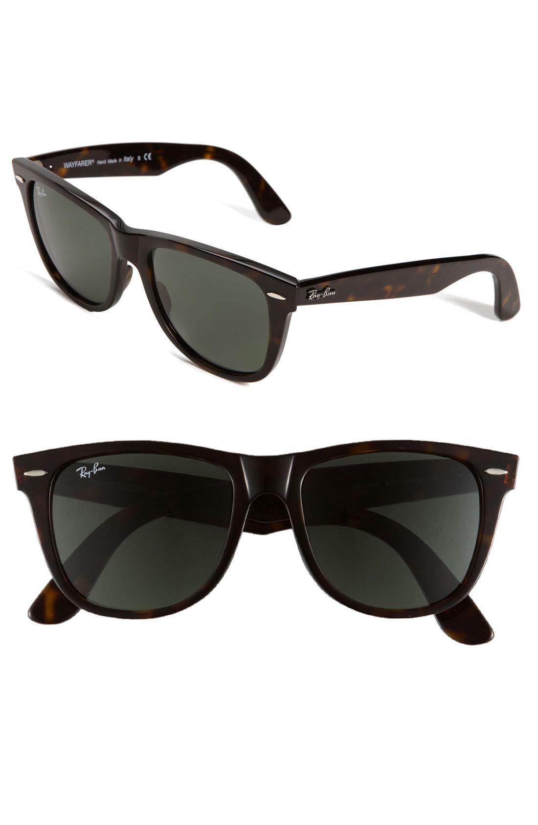 Classic Wayfarer 54mm Sunglasses | Ray ban classic, Ray ...