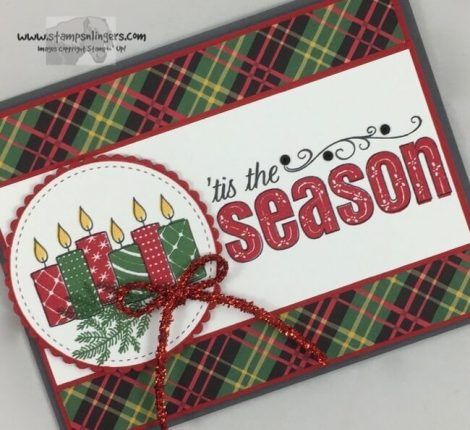 Stampin' Up! Merry Patterns 'Tis the Season   Stamps – n - Lingers