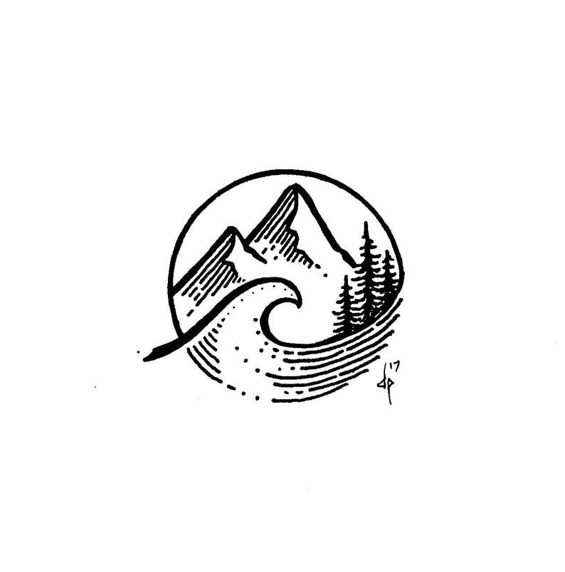 Mt. Surf   Etsy