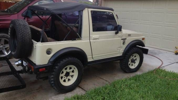 1988 Suzuki Samurai W Safari Top For Sale In Mcallen South Tx
