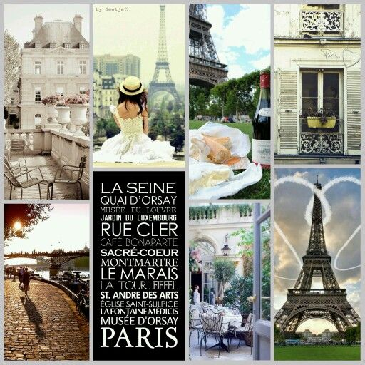 La douce France! #moodboard #mosaic #collage #inspirationboard #byJeetje♡