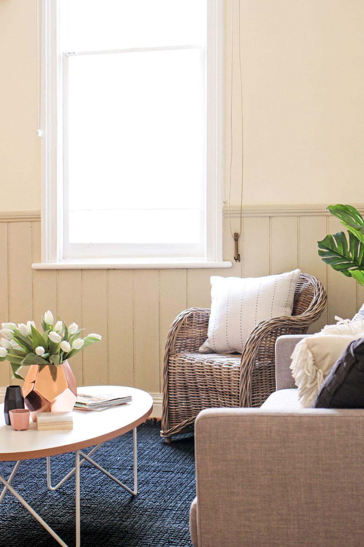 Living room grey sofa scandinavian style   Shift Property Styling ...