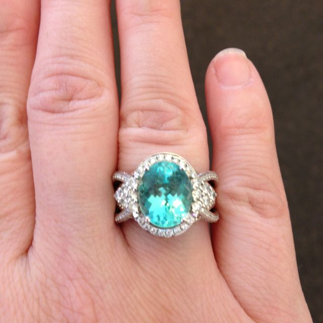 Levian Ring 8th Rarest Stone In The Word Brazilian