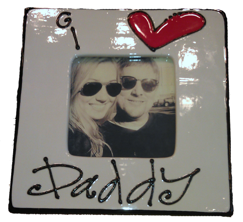 Super Easy Frame For Father's Day!