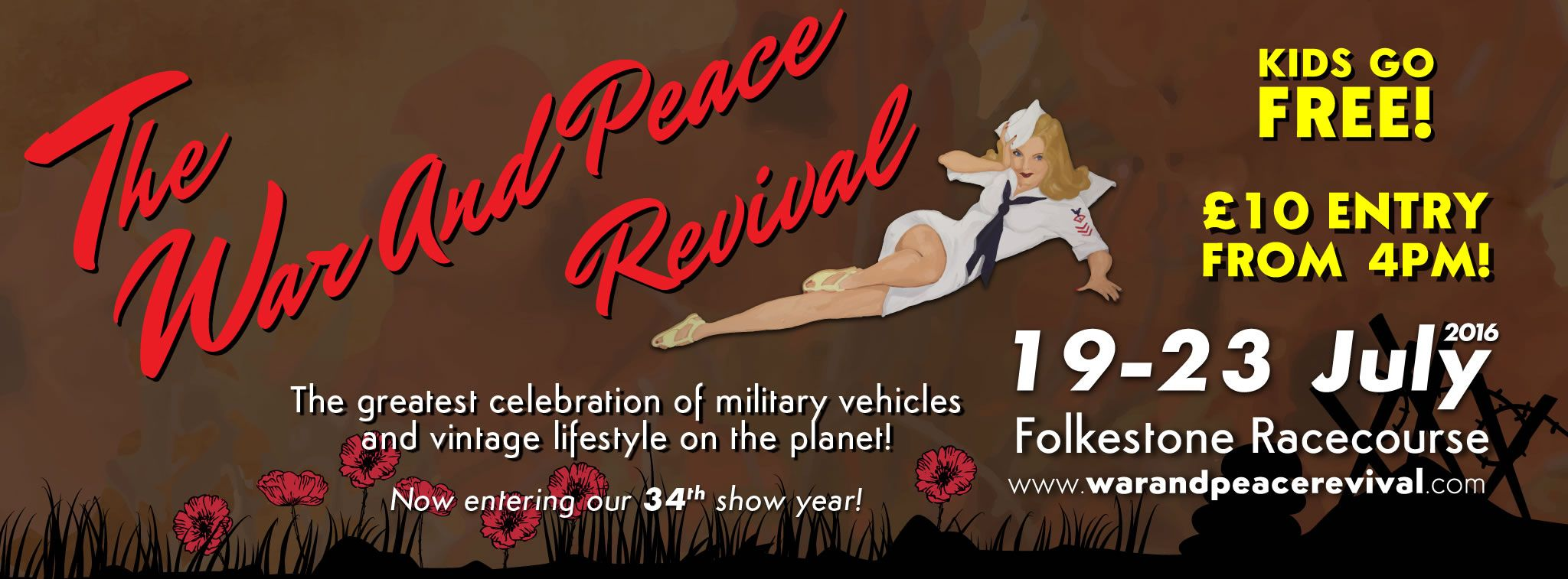 The War and Peace Revival, The Largest Military Vehicle and Vintage gathering.