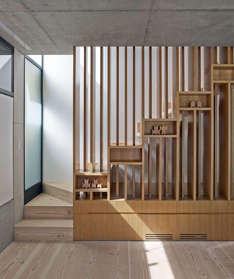 Glebe House By Nobbs Radford Architects Upstairs