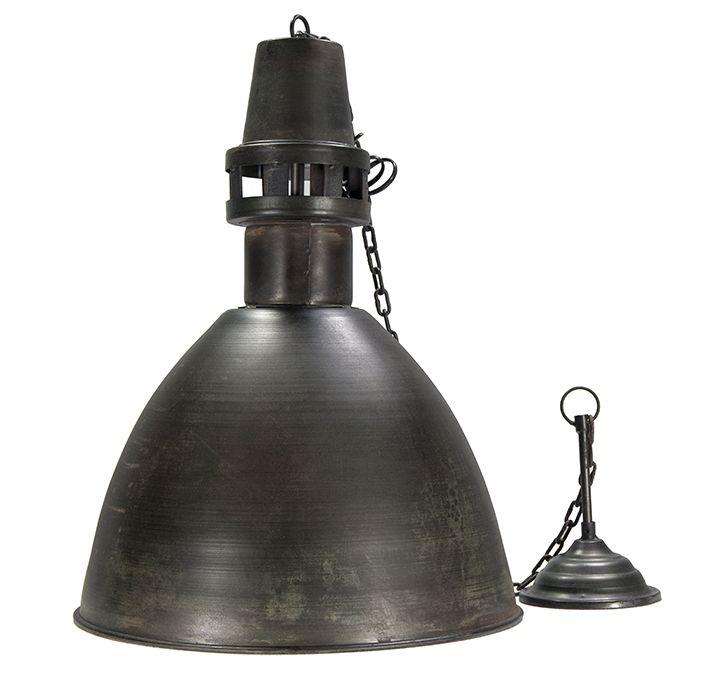 Fotos. Lámparas colgantes de estilo industrial mod. Morella.