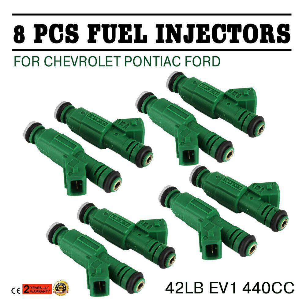 eBay #Sponsored Pop 42lb EV1 Fuel Injectors Fit Chevrolet
