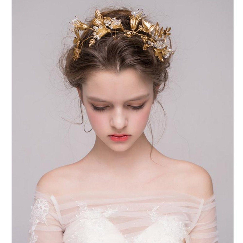 Sunfish golden Blume Blatt Hochzeit Bankett Party Kaiserkrone Braut ...