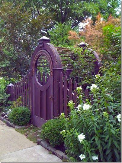 Ordinaire Chinese Portal Purple Garden, Flowers Garden, Dream Garden, Arbor Gate,  Garden Arbor