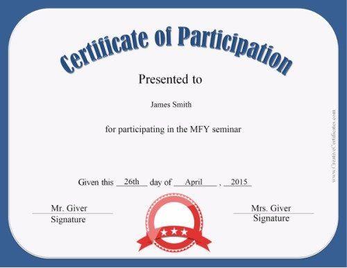 Participation Award Keshi Chuks  Keshi Chukwudi