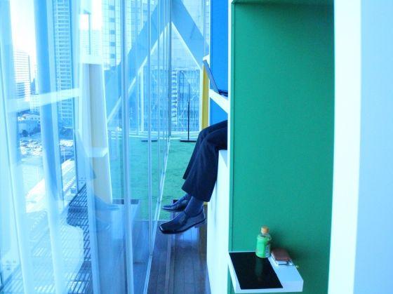 気になるinfo!|気になるオフィス! |ソニー株式会社 リニューアルされた本社食堂に訪問!|オフィス移転・改修・レイアウト変更に役立つ情報満載!「オフィスの広場」