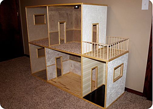 How To Make A Doll House Little Fleming Pinterest