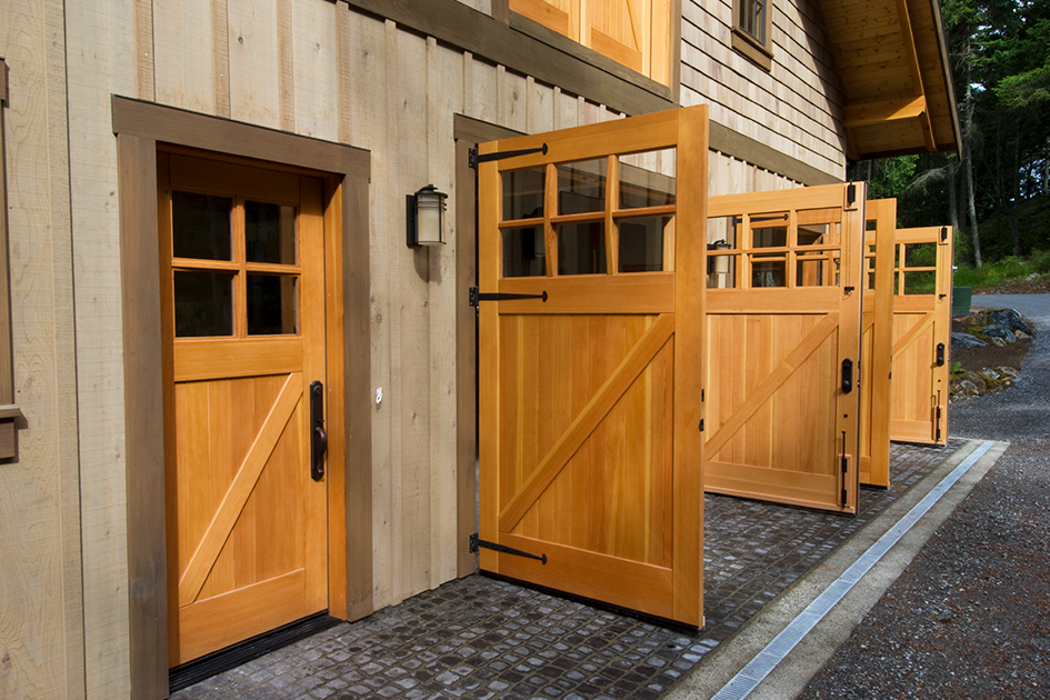 Real Classic Z Brace Carriage Doors On A Refurbished Barn